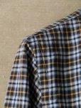 画像6: BORRIELLO (ボリエッロ) ブラウンxネイビーxイエロー タータンチェックシャツ