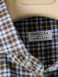 画像5: BORRIELLO (ボリエッロ) ブラウンxネイビーxイエロー タータンチェックシャツ