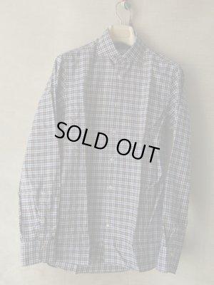 画像1: BORRIELLO (ボリエッロ) ブラウンxネイビーxイエロー タータンチェックシャツ