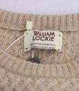 画像3: WILLIAM LOCKIE(ウィリアム ロッキー)  キャメルヘアー インターウエーブ クルーネックセーター(秋冬向き) (3)